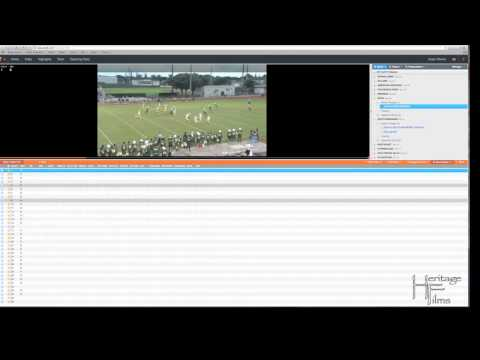 TUTORIAL - Create Hudl Playlists for Highlight video