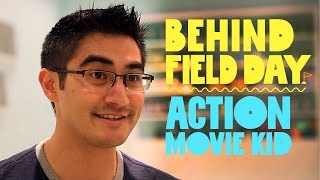 Action Movie Kid Has The Best Dad EVER! | Behind Field Day