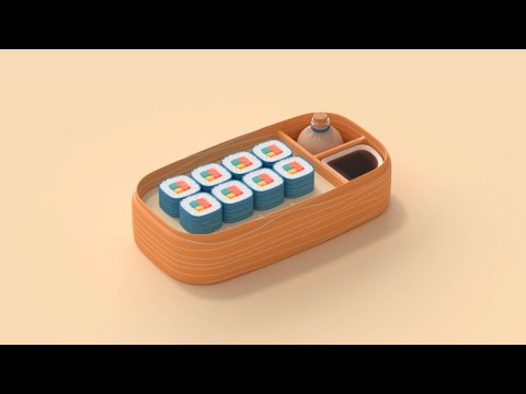 How to make sushi - Animation