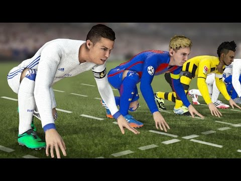 FIFA 17 PACE/SPEED TEST | WHO IS THE FASTEST PLAYER IN THE GAME??