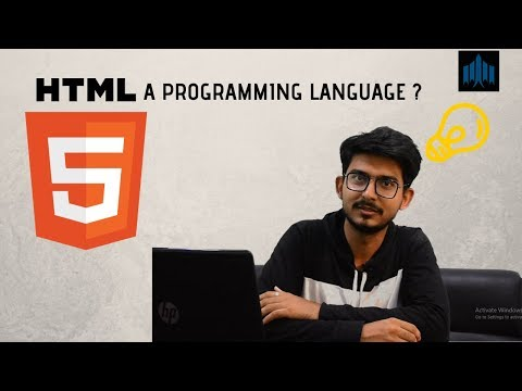 HTML A PROGRAMMING LANGUAGE ??  LEARN HTML | EGO MANIAX