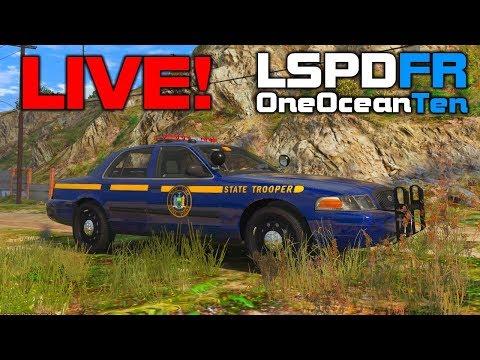 GTA V Cops LIVE #2 - New York State Police! [Archived Stream]