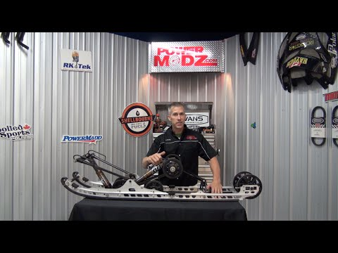 Snowmobile Fox Float Rear Conversion Kit From Nextech!  PowerModz!