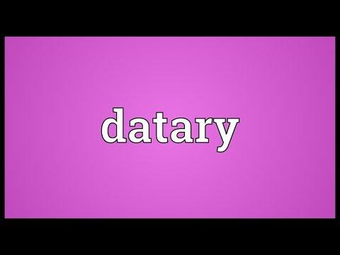 Header of datary