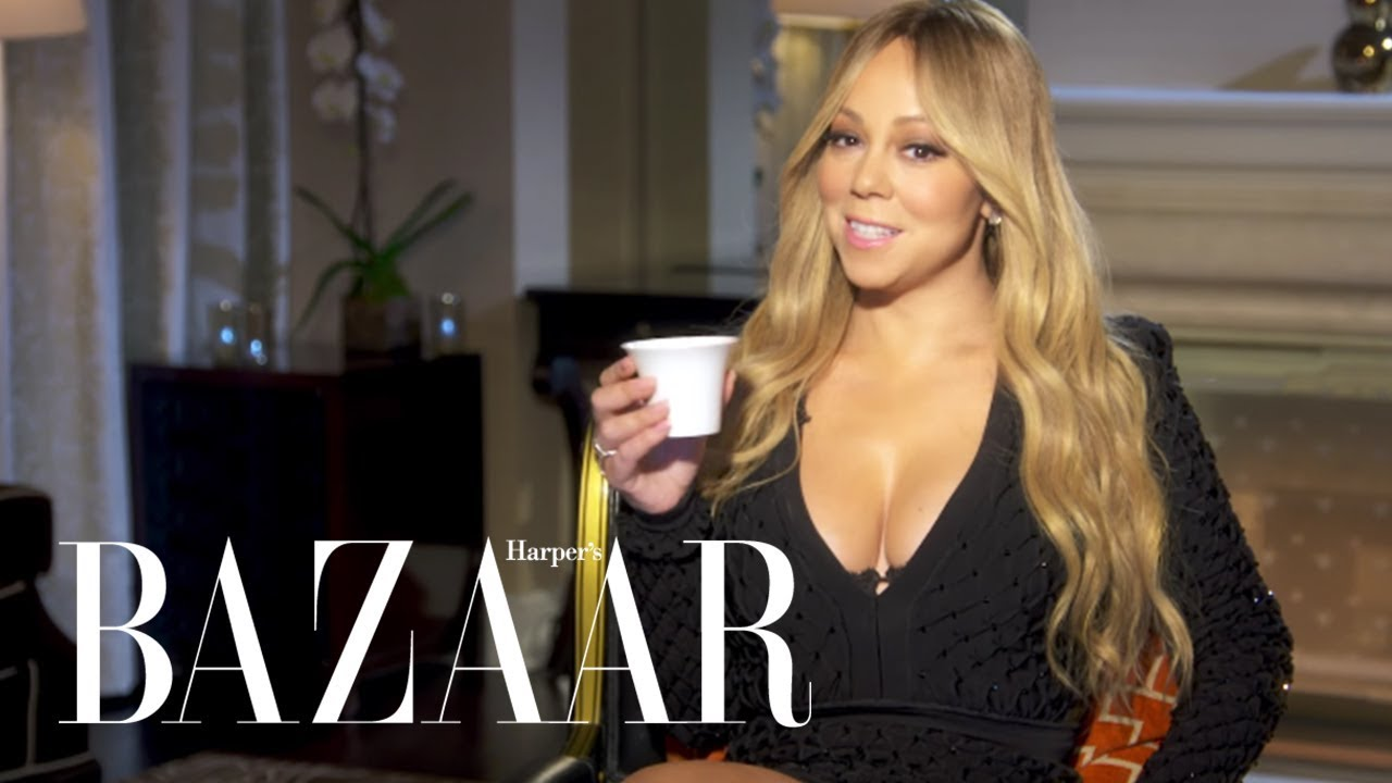 Mariah Carey Spills the Tea in Never Have I Ever  | Harper's BAZAAR
