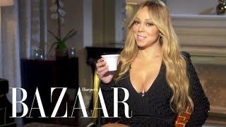 Mariah Carey Spills the Tea in Never Have I Ever  | Harper's BAZAAR