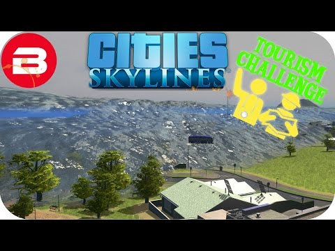 Generate Cities Skylines Gameplay - TSUNAMI RAGEQUIT!!! (Cities: Skylines TOURIST Scenario) #9 Screenshots