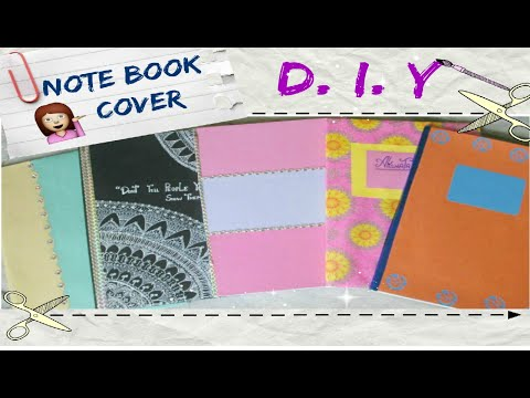 5 DIY Notebook Cover Ideas ✏💙(Back To School)