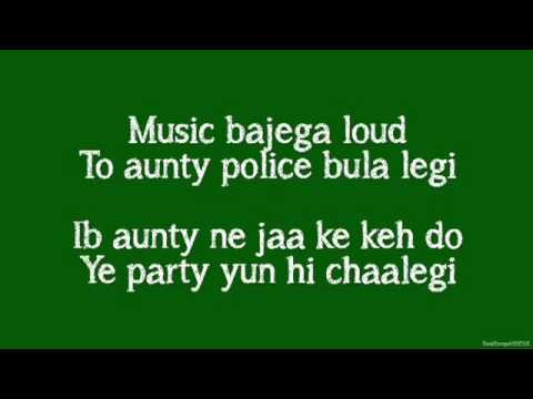 Party All Night Lyrics)BOSS ftYo Yo Honey Singh, Aksha
