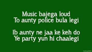 Party All Night Lyrics)   BOSS ft  Yo Yo Honey Singh, Aksha
