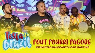 Intimistas, Galocantô e João Martins - Pout Pourri (Festa do Brazil) FM O Dia
