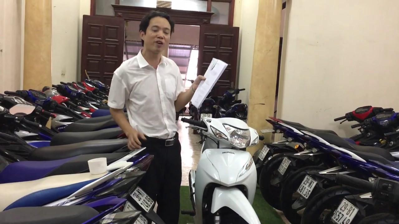 Xe máy Hoàng Kiên - Chia sẻ kinh nghiệm mua xe máy cũ đã qua sử dụng (xe số)
