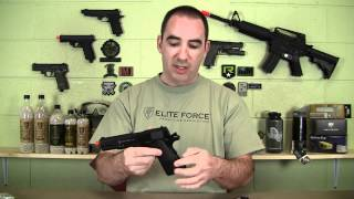 Airsoft Review Elite Force 1911 A1 C02 GBB