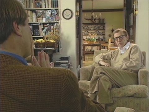 Woody Allen defends himself on 60 Minutes in '92