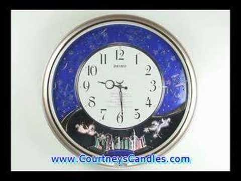 Seiko QXM325SRH Melodies in Motion Musical Clock