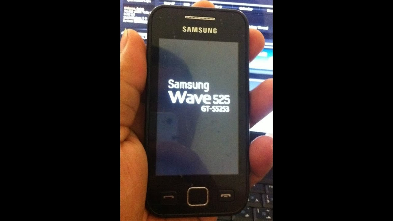 Samsung Wave 525 Video clips
