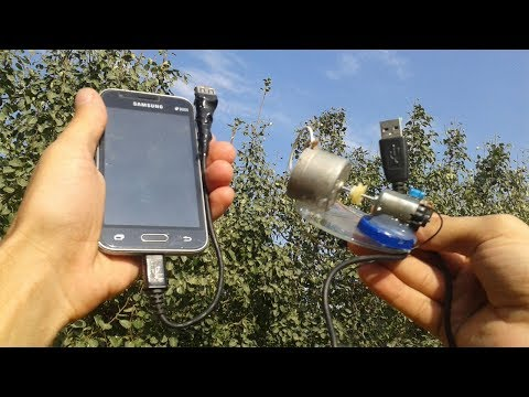 Free Energy Mobile Phone Charger - With OTG Cable