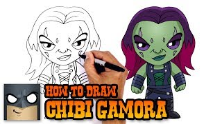 How to Draw Gamora | Guardians of the Galaxy