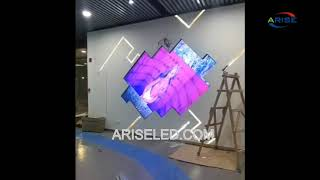 Small Pixel Pitch HD 4K 8K LED Video Wall Display P1.667 Front Maintenance Front Service LED Screen,
