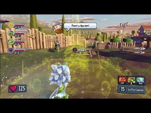 Plants vs. Zombies Garden Warfare - 4-Spieler Koop Gameplay