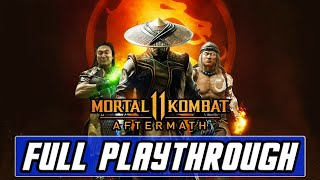 Mortal Kombat 11: Aftermath [PS4 PRO] Gameplay Full DLC Playthrough - Fujin & Robocop Action!