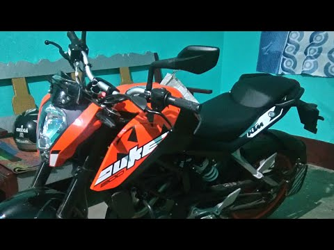 NEW 2018 || KTM DUKE 200 || BS IV WITH AHO  REVIEW FRONT TO BACK DAS'||