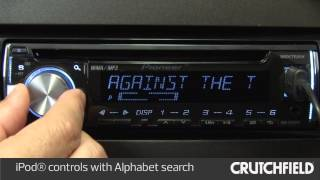 Pioneer DEH-X3600UI Car Stereo Display and Controls Demo | Crutchfield Video Mp3
