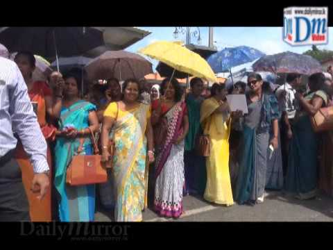 Administrative officers protest against Ranjan's remarks