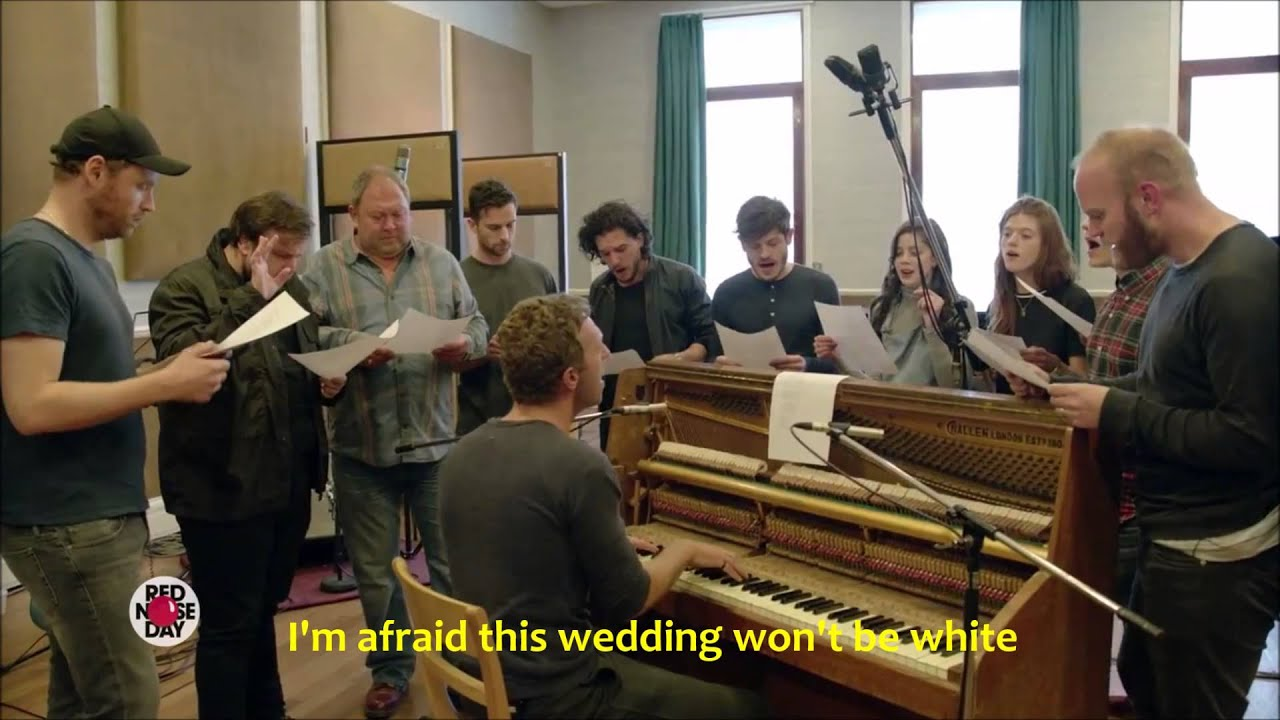 Coldplay Red Wedding Lyrics Of Thrones The Musical Got Cast You