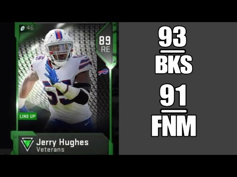Veteran Jerry Hughes | Player Review | Madden 19 Ultimate Team Gameplay