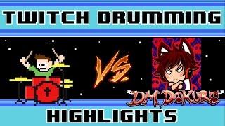 DM DOKURO - The Final UT Challenge (Blind Drum Challenge) -- The8BitDrummer