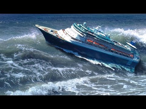 Scariest Ships in Storms Caught On Camera #1