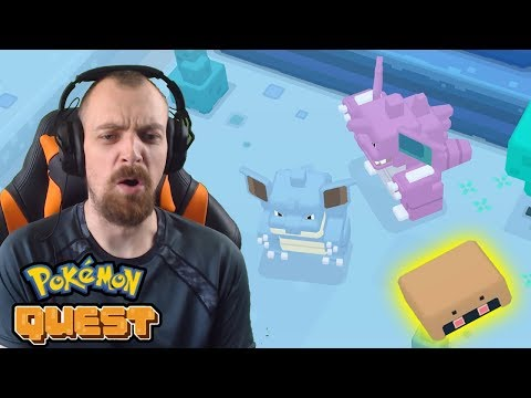 KABUTO BEKOMMEN & NIDOKING/NIDOQUEEN BOSSKAMPF - Pokemon Quest Gameplay Deutsch   EgoWhity