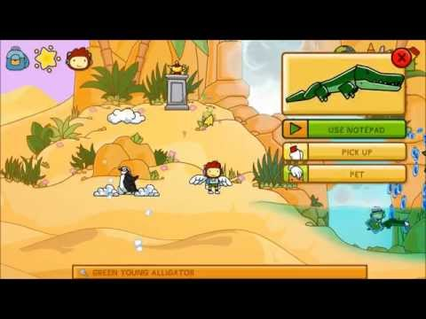 Scribblenauts Unlimited Walkthrough Camelcase Oasis
