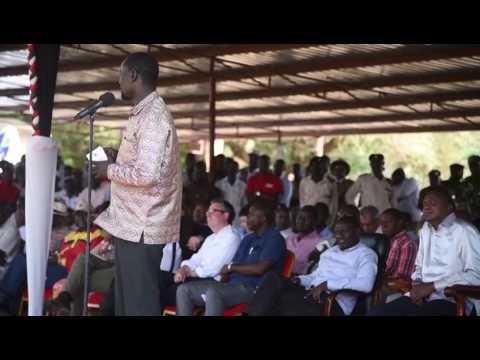 Turkana Governor Josephat Nanok speaks on oil revenue