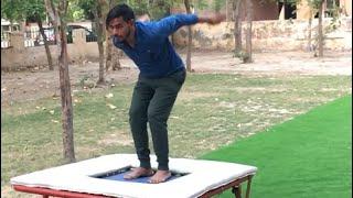 #Gymnastic | Backflip on trampoline #short