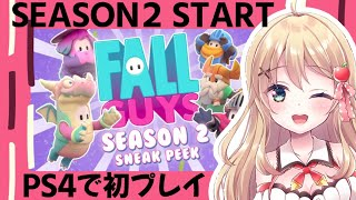 【Fall Guys】シーズン2が来たようだ…!PS4で初プレイ!!【Vtuber】