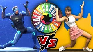 Fortnite Dances IN REAL LIFE *Mystery Wheel Edition!*
