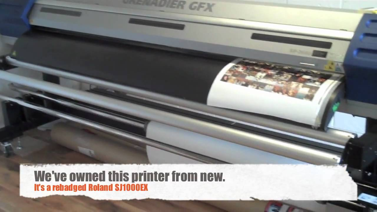 Used Large Format Printer for Sale