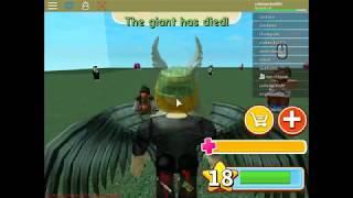 muere, muereee gigante (Roblox-Giant Survival)