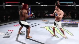 EA SPORTS™ UFC® 2 my best knockouts