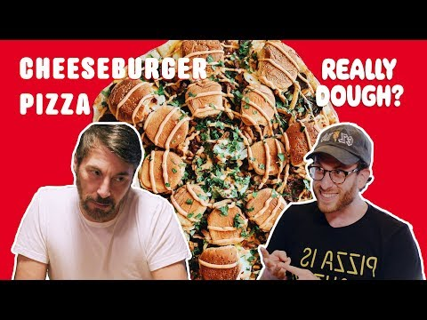 Cheeseburger Pizza: A Must Try American Classic?    Really Dough?