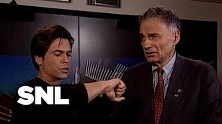 Ralph Nader Backstage - Saturday Night Live