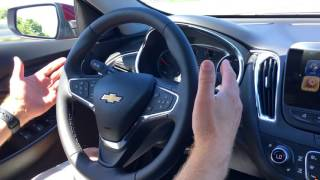 Chevrolet Malibu Self Driving Lane Keep Assist Test