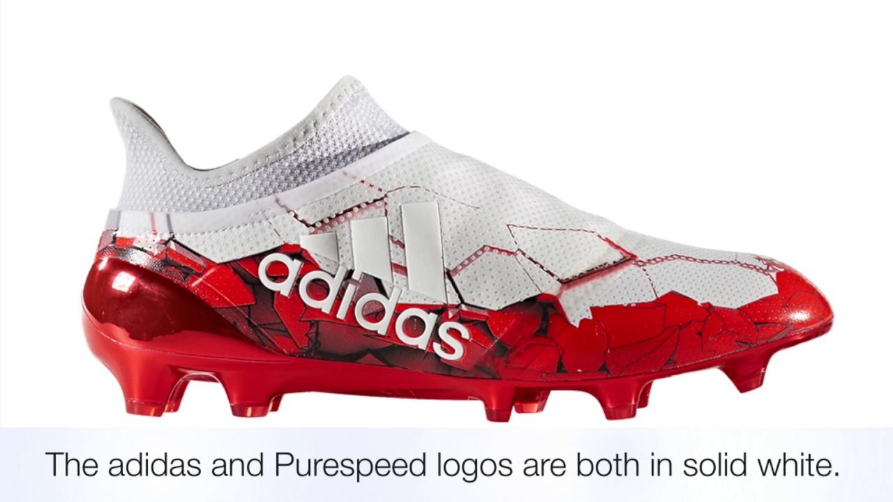 reputable site de0a0 fbb27 adidas X 16+ Purespeed FG Confederations Cup Boots - YouTube