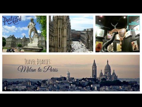 TRAVEL VLOG || Duomo, Espace Dali, Montmartre, Jardin Du Luxembourg