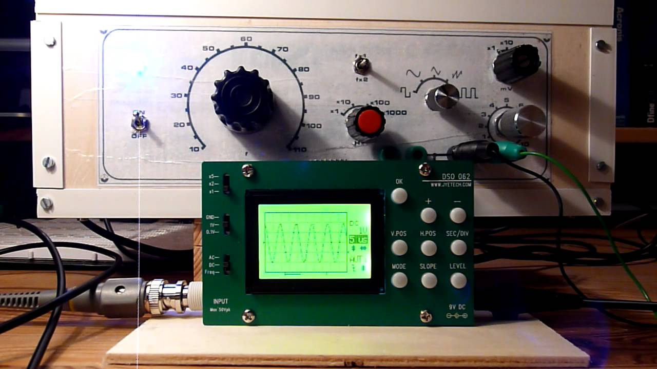 DIY XR2206 Function generator