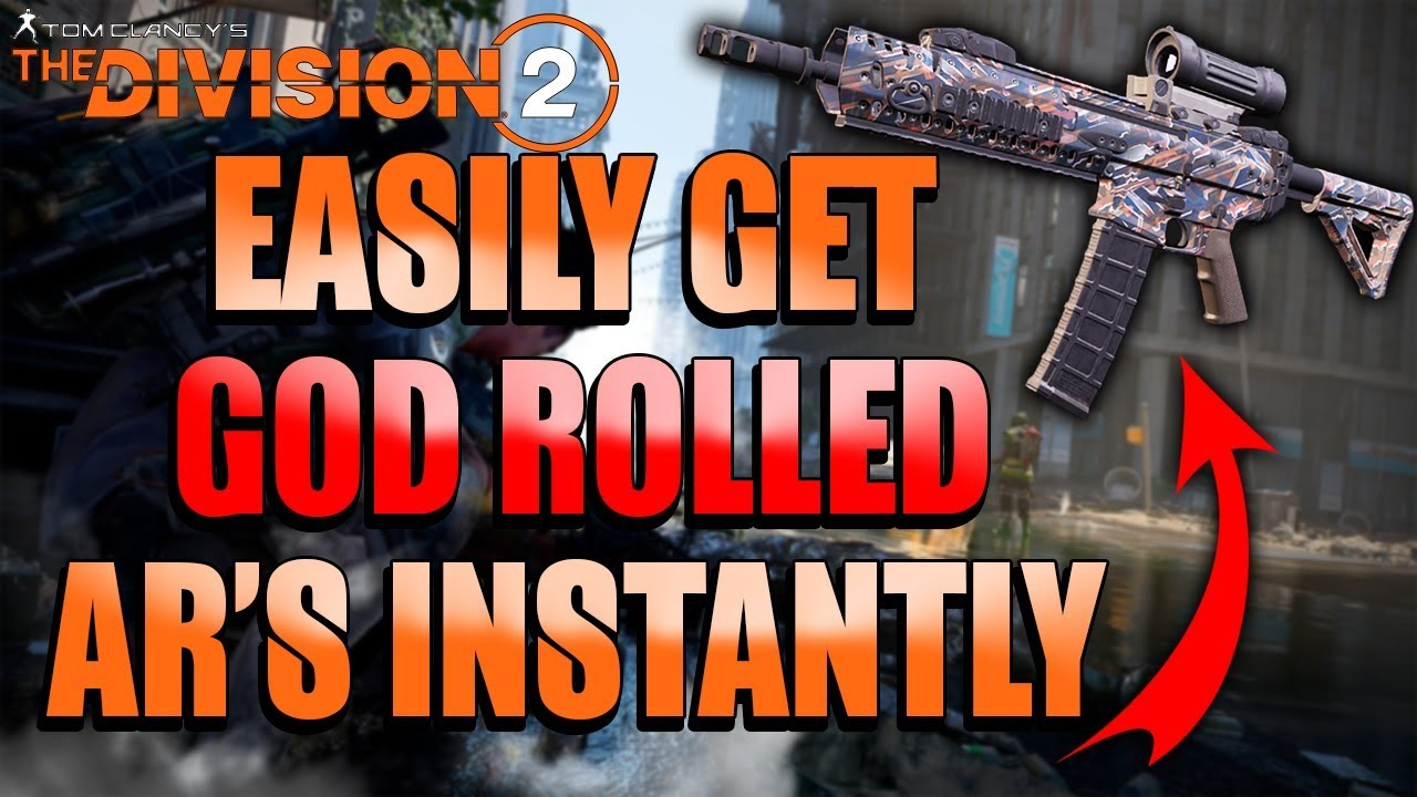 Division 2: Warlords of New York! EASILY Get Level 40 GOD ROLLED AR's! INSTANT Level 40 God Rolls!