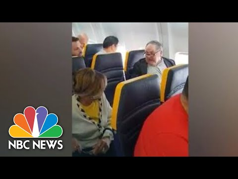 Video Captures Ryanair Passenger's Racist Rant At Black Woman | NBC News