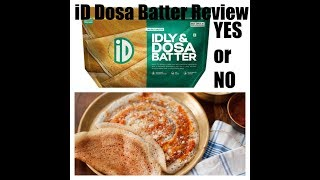 #Dosa iD Dosa Batter Review | Soft and Crispy Dosa with iD Dosa Batter |